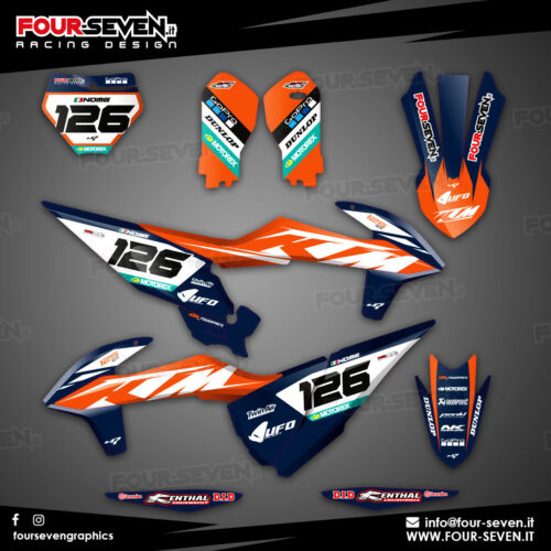 Grafiche per Ktm UFO Limited Edition