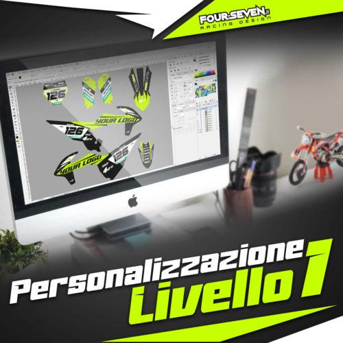 Personalizzazione grafiche LIVELLO 1