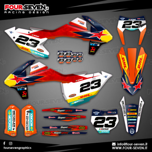 Grafiche per Ktm DHL RED SMOKE