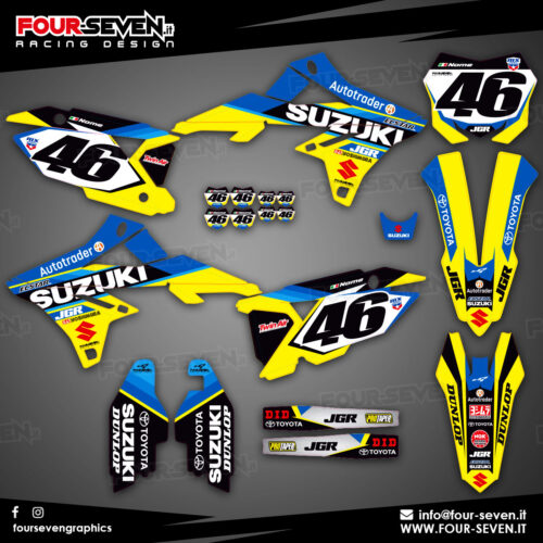 Grafiche per Suzuki JGR