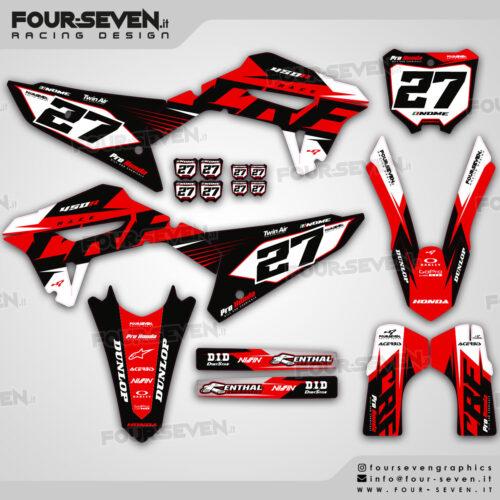 Grafiche per Honda RACE BLACK