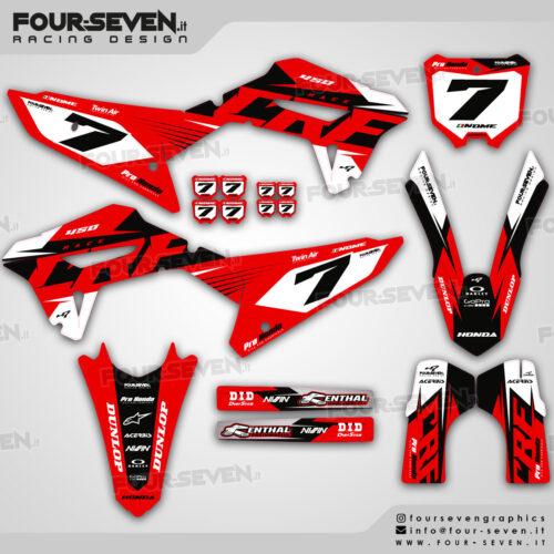 Grafiche per Honda RACE RED