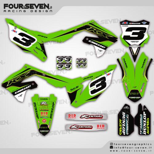 Grafiche per Kawasaki SX GREEN