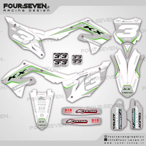 Grafiche per Kawasaki SX WHITE